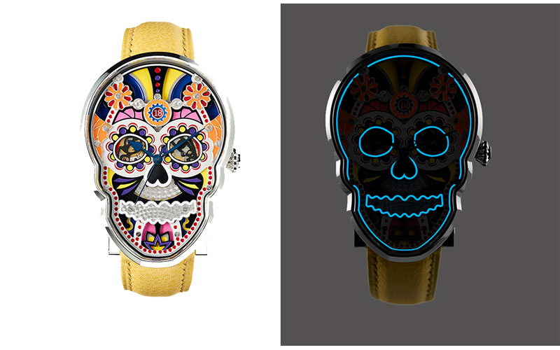 Fiona Krüger Celebration Skull - Baselworld 2015