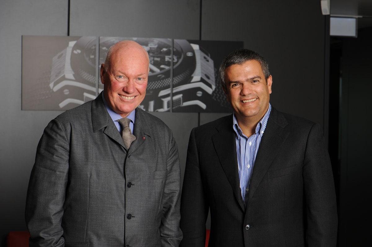 Jean-Claude Biver & Ricardo Guadalupe