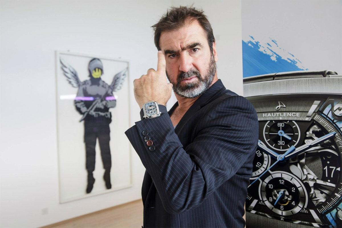 Cantona, ambassadeur de Hautlence