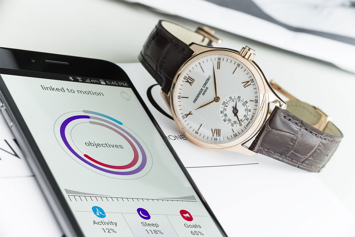 Horological Smartwatch - Frédérique Constant