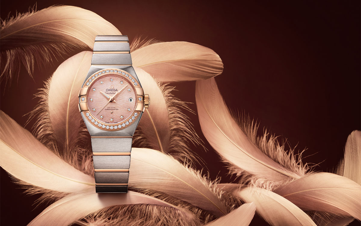 Omega Constellation Pluma
