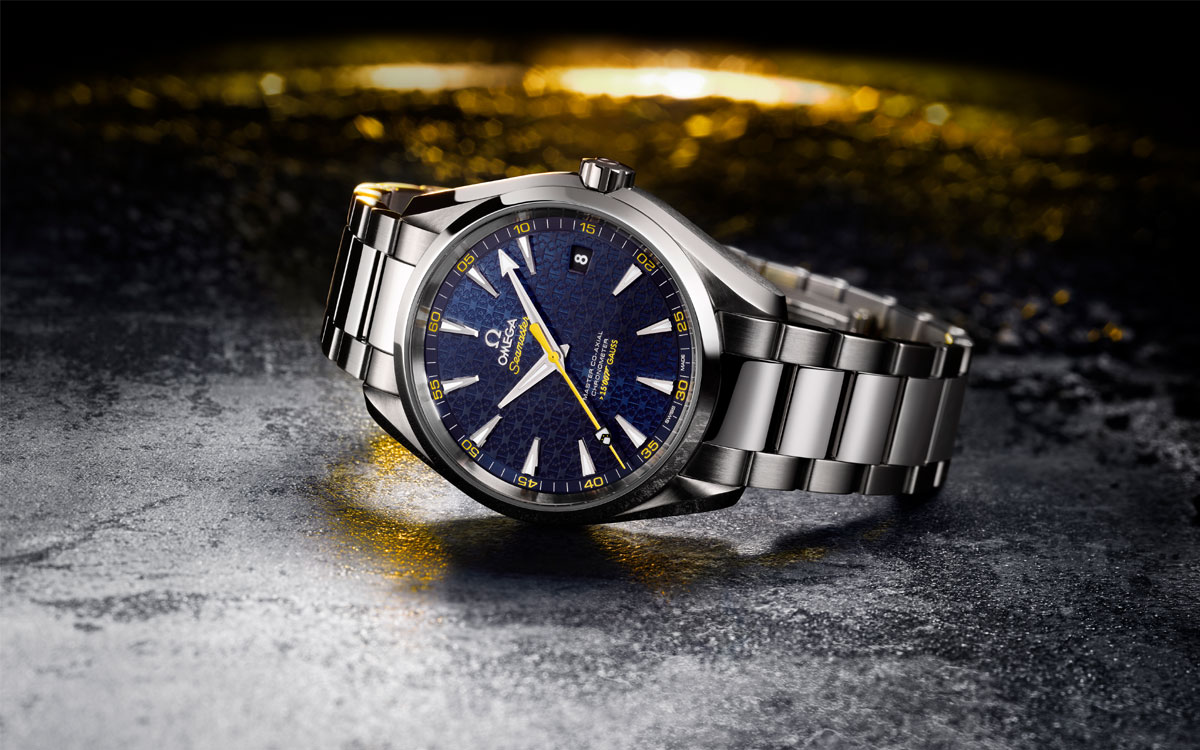 Omega Seamaster Aqua Terra James Bond - Baselworld 2015
