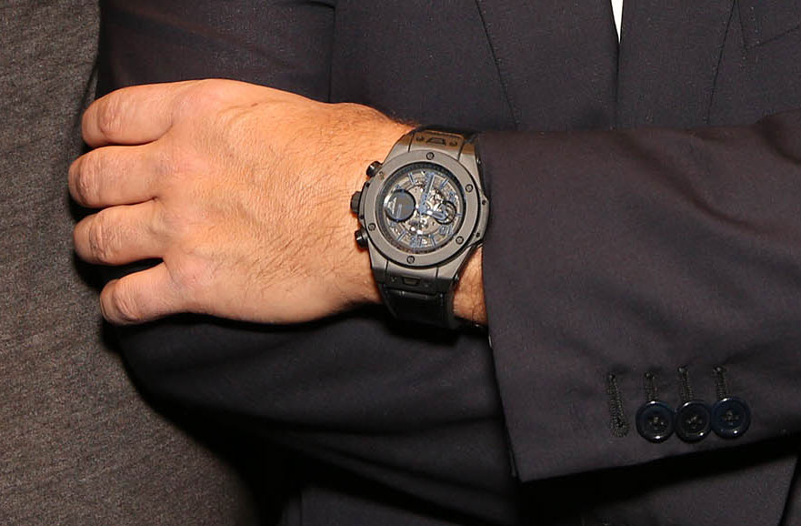 Montre Big Bang Unico All Black de Ricardo Guadalupe