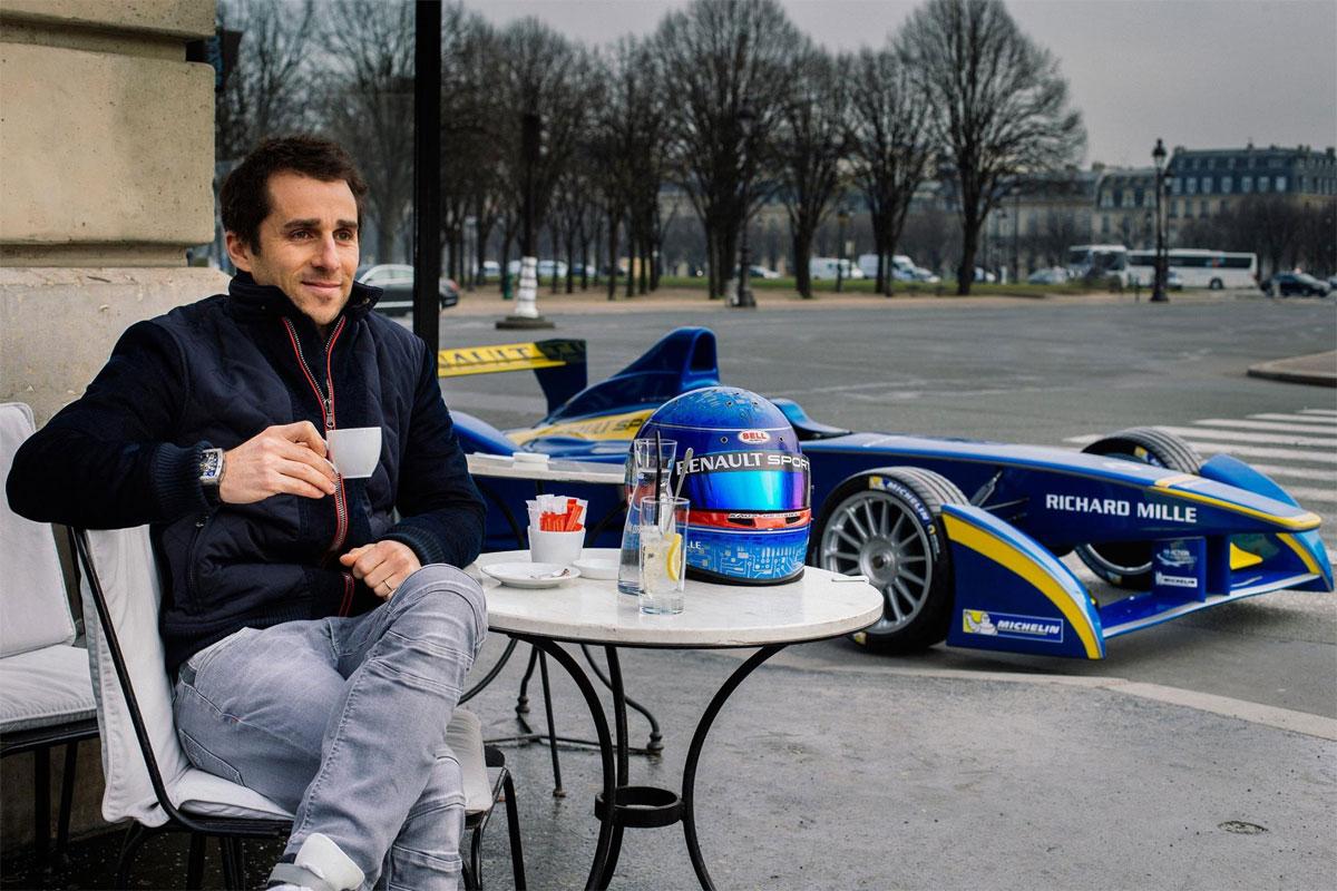 Richard Mille sponsor de l'écurie Renault FormuleE
