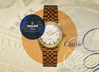 La Rolex Datejust a 70 ans en 2015
