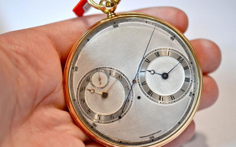 Breguet & Fils Paris Stop Watch n°2667 - Visuel ©Hodinkee.com - Classement des montres les plus chères du monde