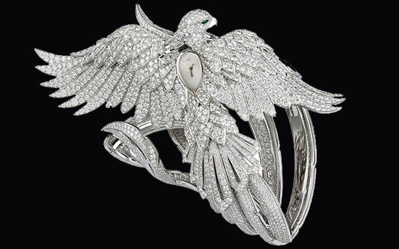 Cartier Secret watch with phoenix decor - Classement des montres les plus chères du monde