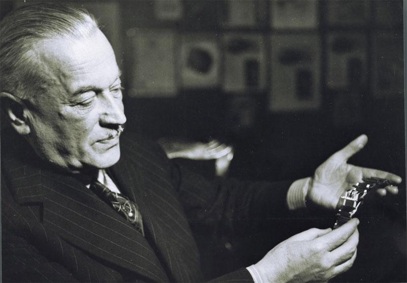 Hans Wilsdorf vers 1950