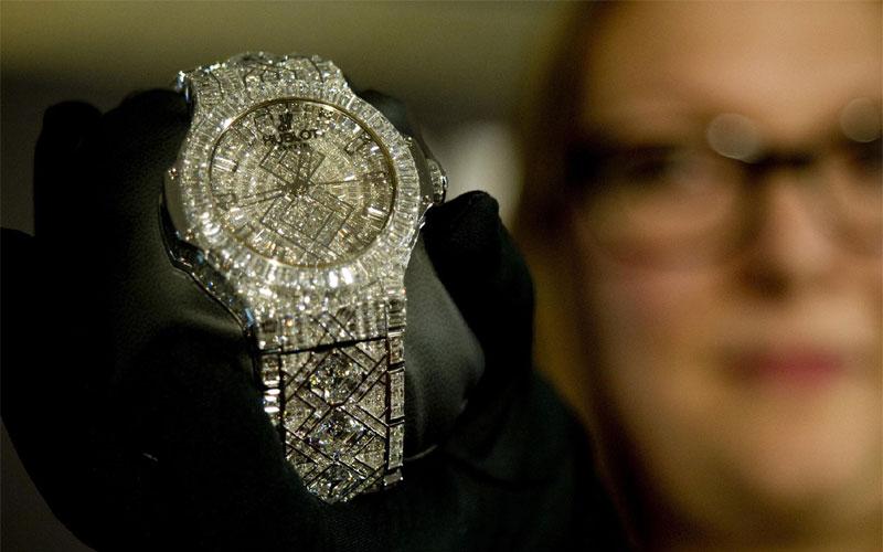 Hublot 5 million - Classement des montres les plus chères du monde