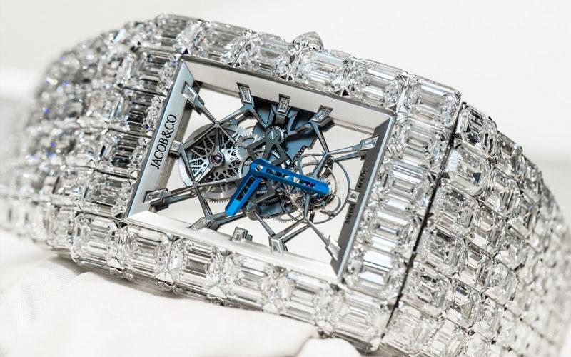Jacob & Co Billionaire - Classement des montres les plus chères du monde