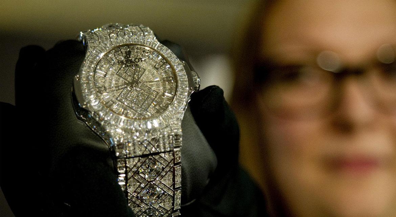 Classement des montres les plus chères