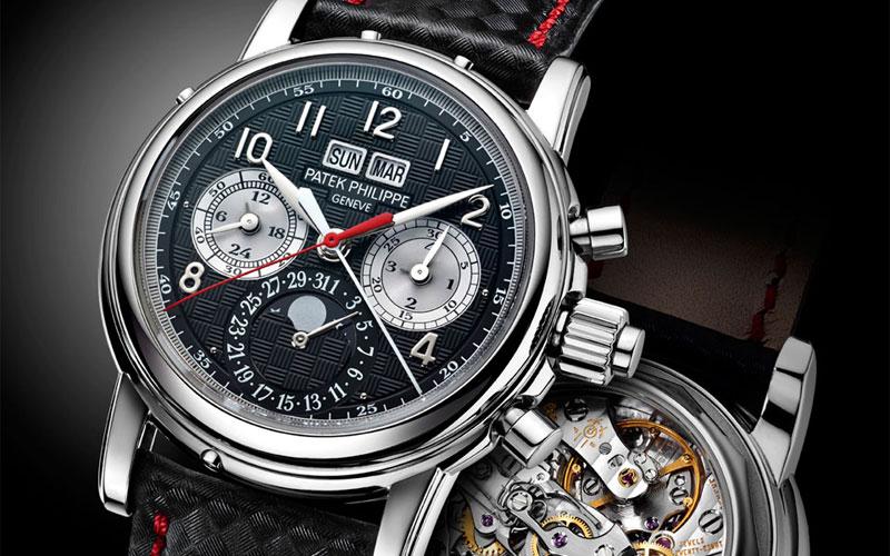 Patek Philippe 5004T en titane - Classement des montres les plus chères du monde