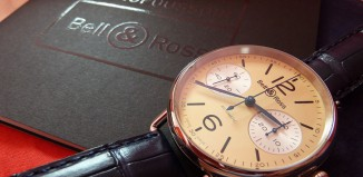 Bell&Ross WW1 Chronographe Monopoussoir Ivoire