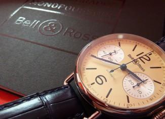 Bell&Ross WW1 Chronographe Monopoussoir Ivoire