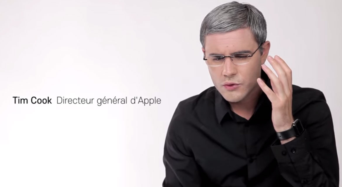 Cyprien présente l'Apple Watch
