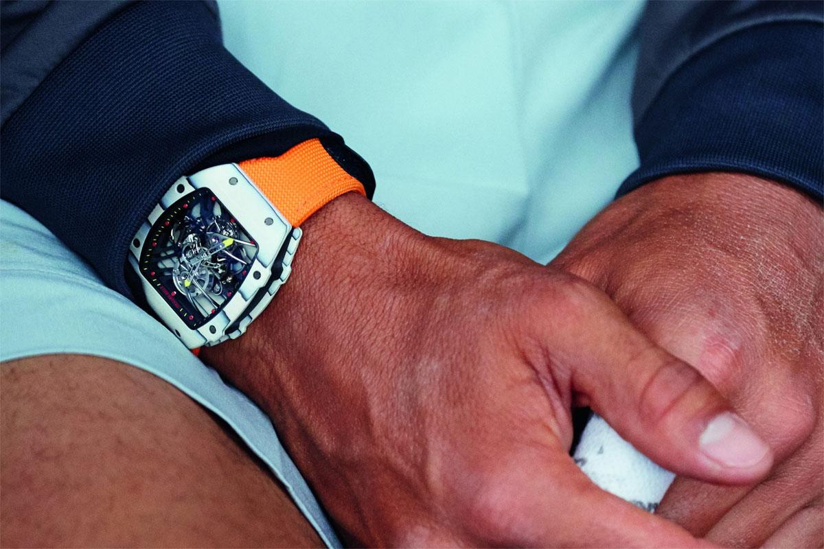 Montre Richard Mille RM 27-02 de Rafael Nadal
