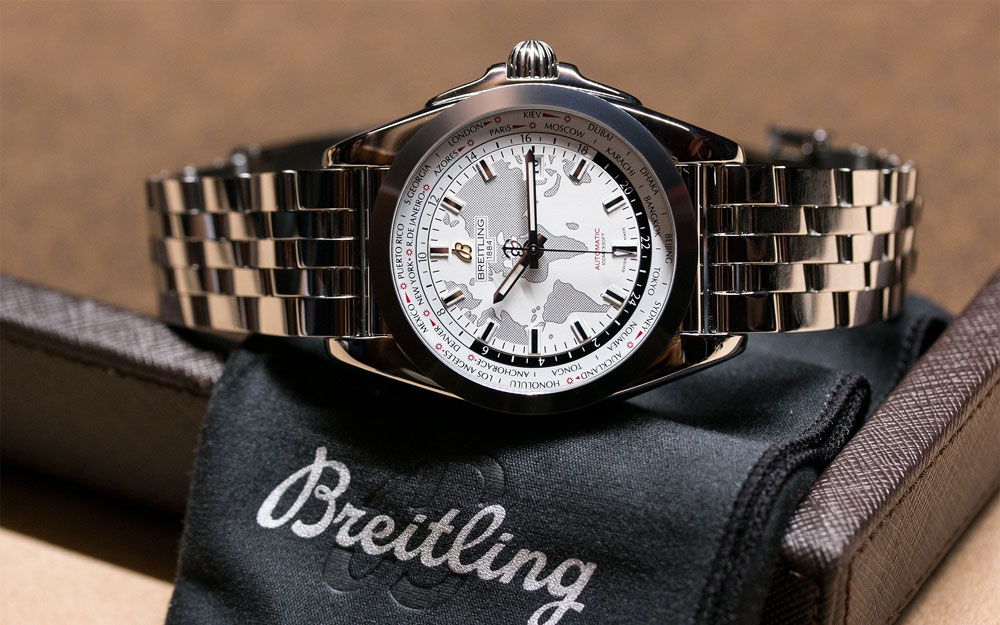 Breitling Galactic Unitime SleekT - Visuel Copyright Chronos24.pl