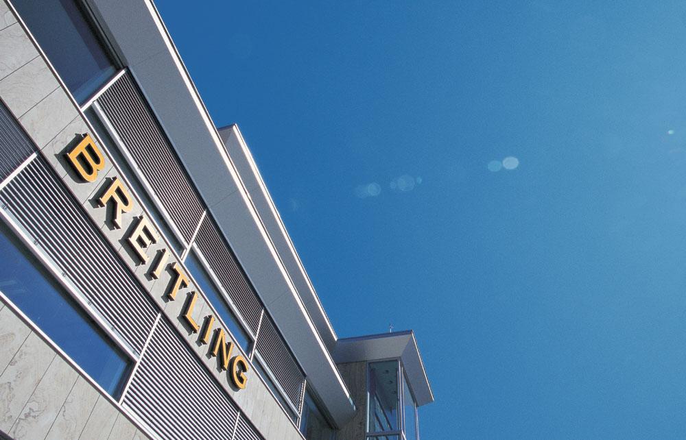 Siège social de Breitling à Granges (Suisse)