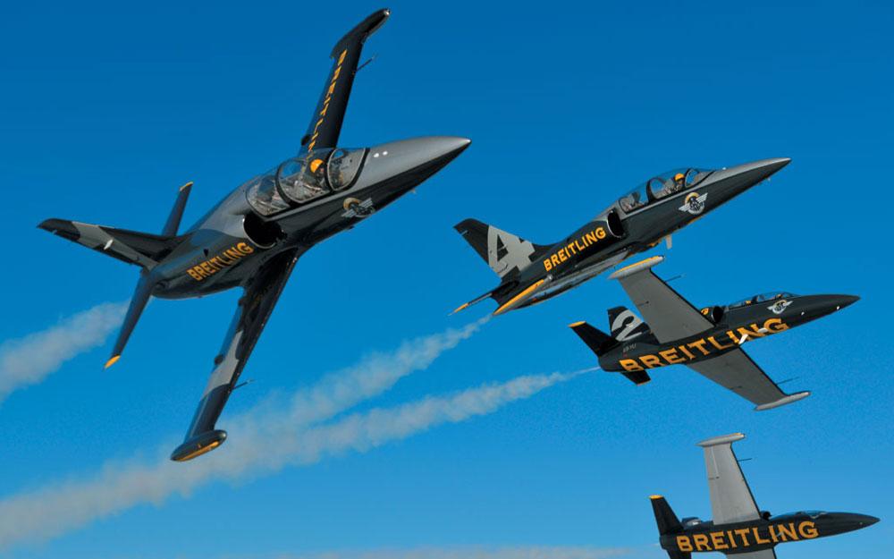 Patrouille aérienne Breitling