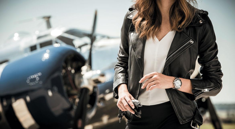 Chronomat 38 Sleekt : Les femmes aux commandes