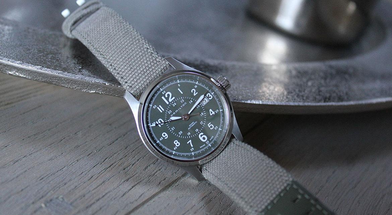 Une semaine avec la montre Hamilton Khaki Field