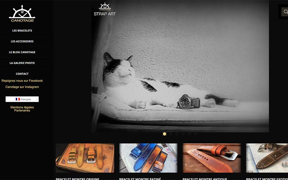 Canotage : Boutique en ligne spécialisée dans les bracelets