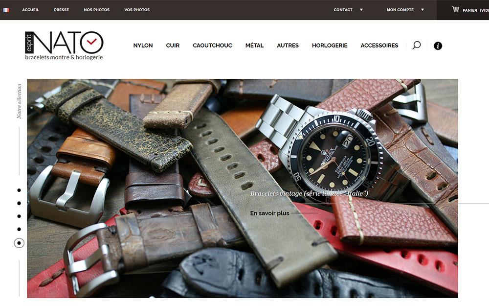 Esprit NATO : Boutique en ligne de bracelets de montres