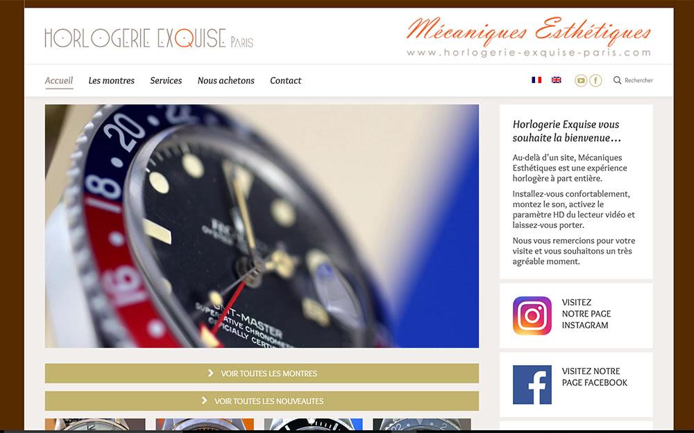 Horlogerie Exquise Paris : Achat & Vente de montres de luxe d'occasion en ligne