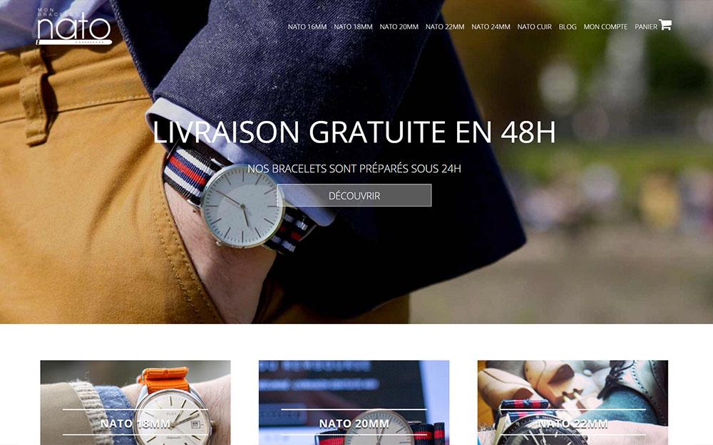 Mon Bracelet Nato : Le spécialiste en ligne du Bracelet Nato