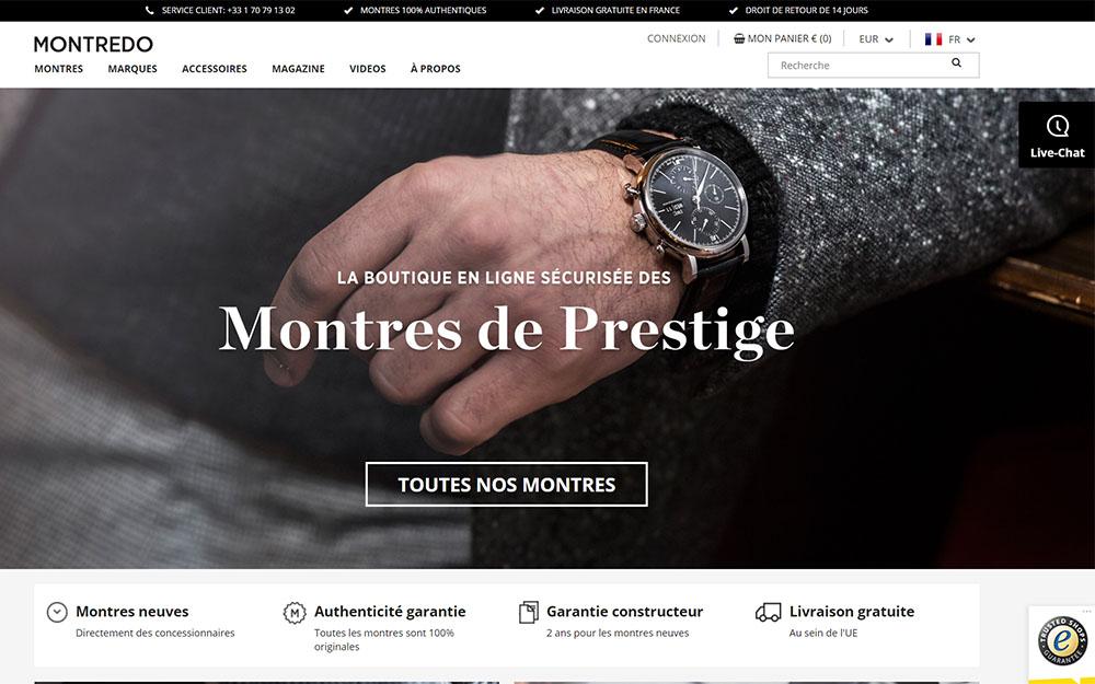 Montredo : Boutique en ligne de montres de luxe d'occasion