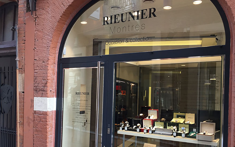 Rieunier: Second hand watch shops in Toulouse