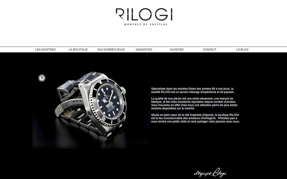 Rilogi : Montres de prestige à Ajaccio
