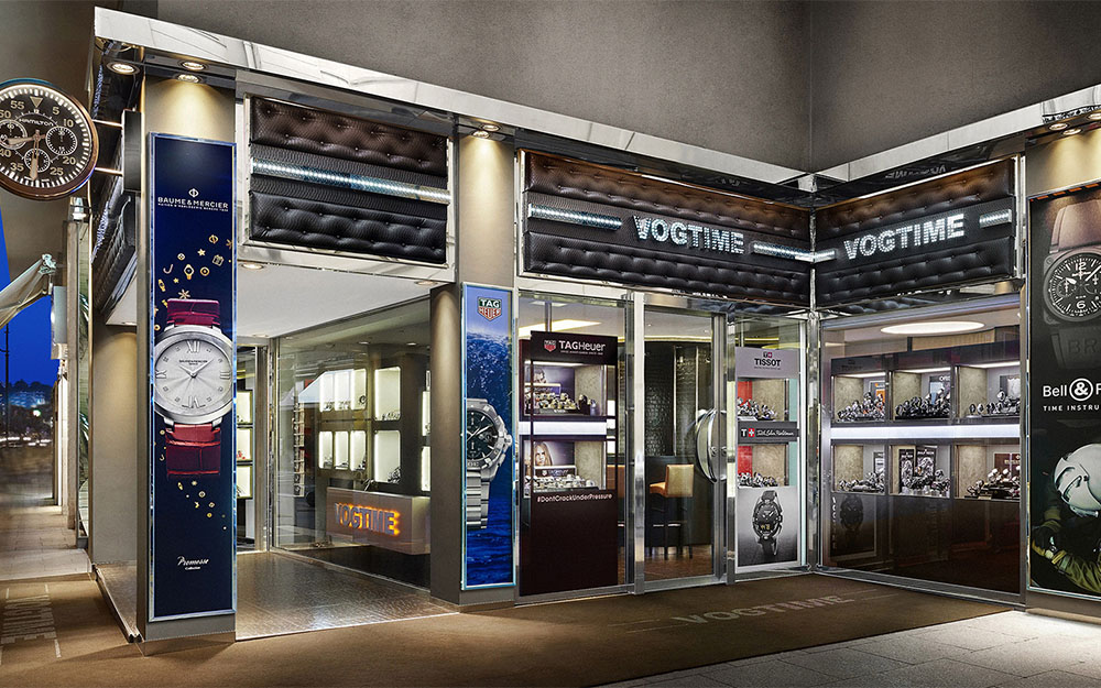 Vogtime: new watch boutique in Cannes