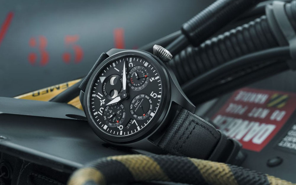 IWA Big Pilot's Watch Perpetual Calendar Top Gun - Visual Copyright IWC