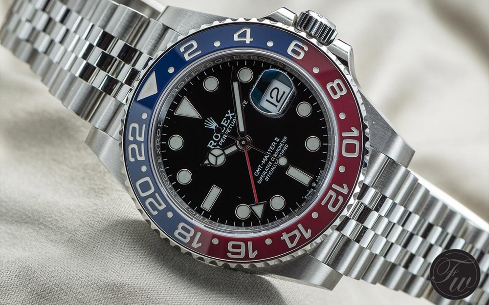 Rolex GMT Master II Reference 126710 - Visuel Copyright Fratellowatches