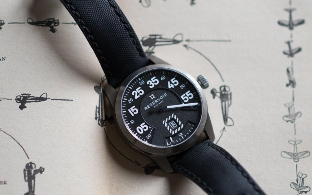 Reservoir Watch Airfight Titane