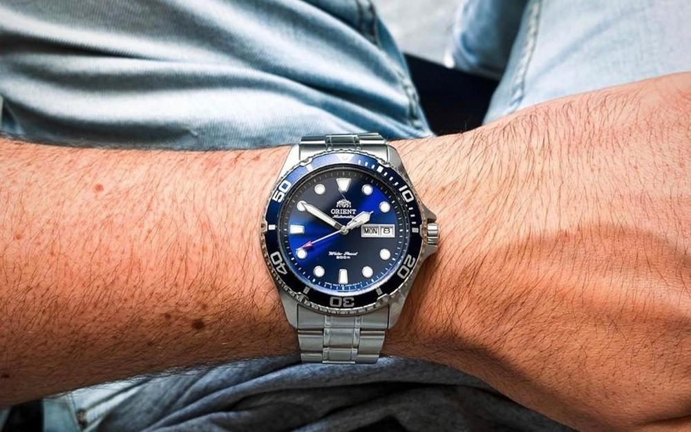 Montre Orient Ray Bleu